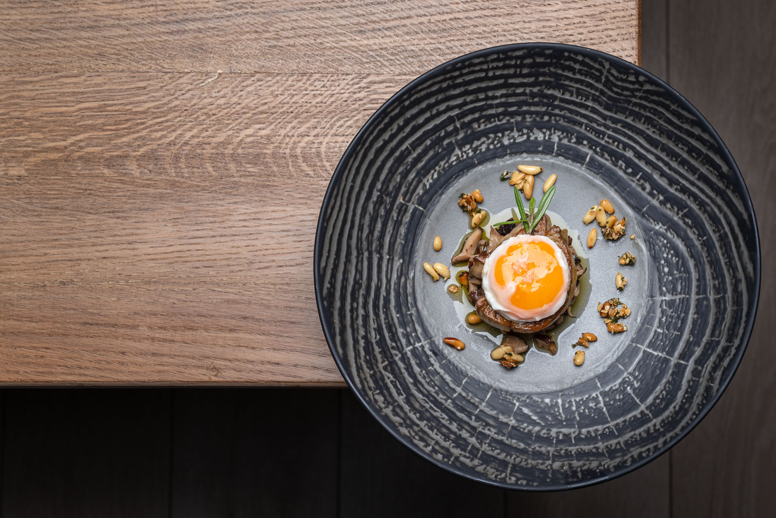 fotografía gastronómica para hoteles
