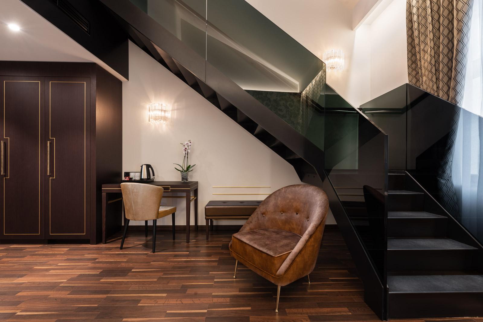sofá en suite