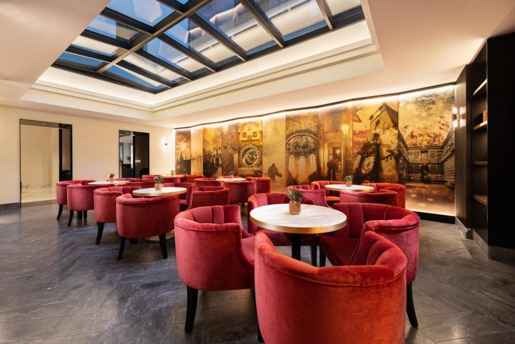 cafetería de hotel
