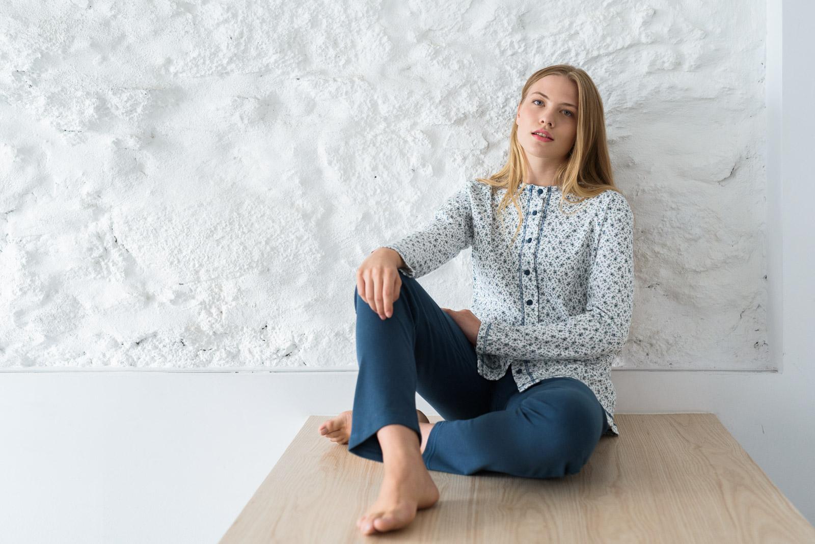 fotografía de pijamas