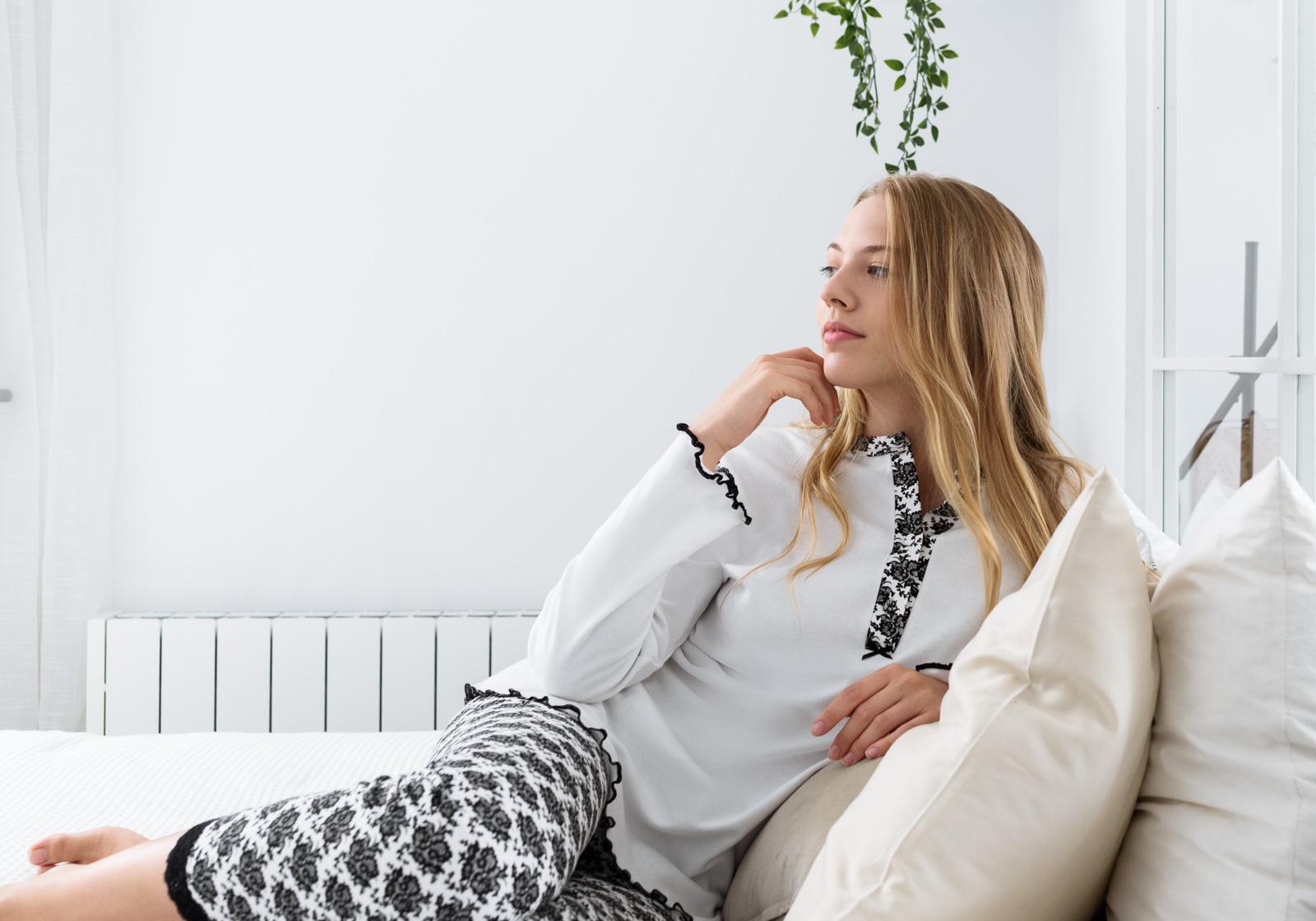 fotografía publicitaria de pijamas