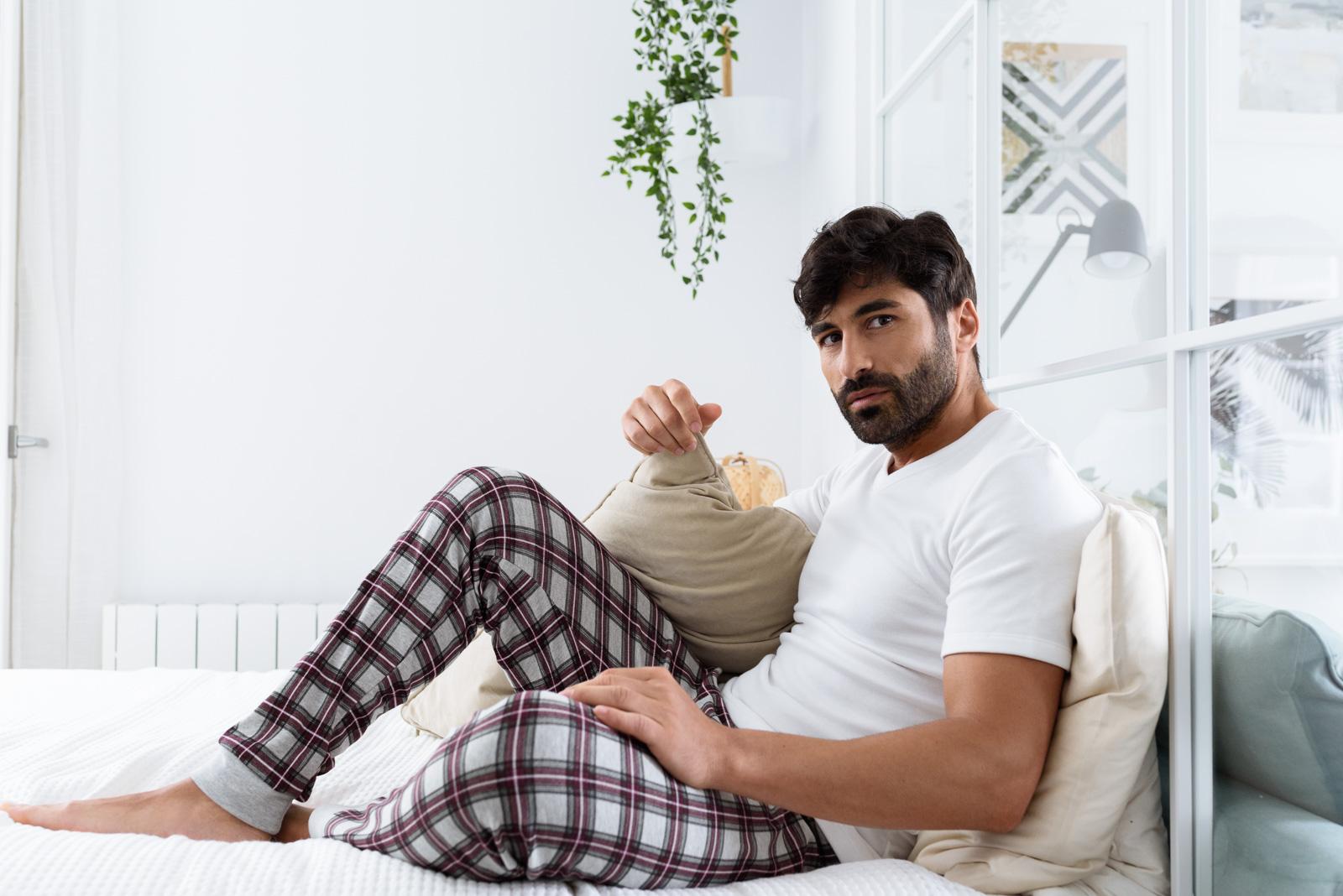sesión lifestyle de pijamas