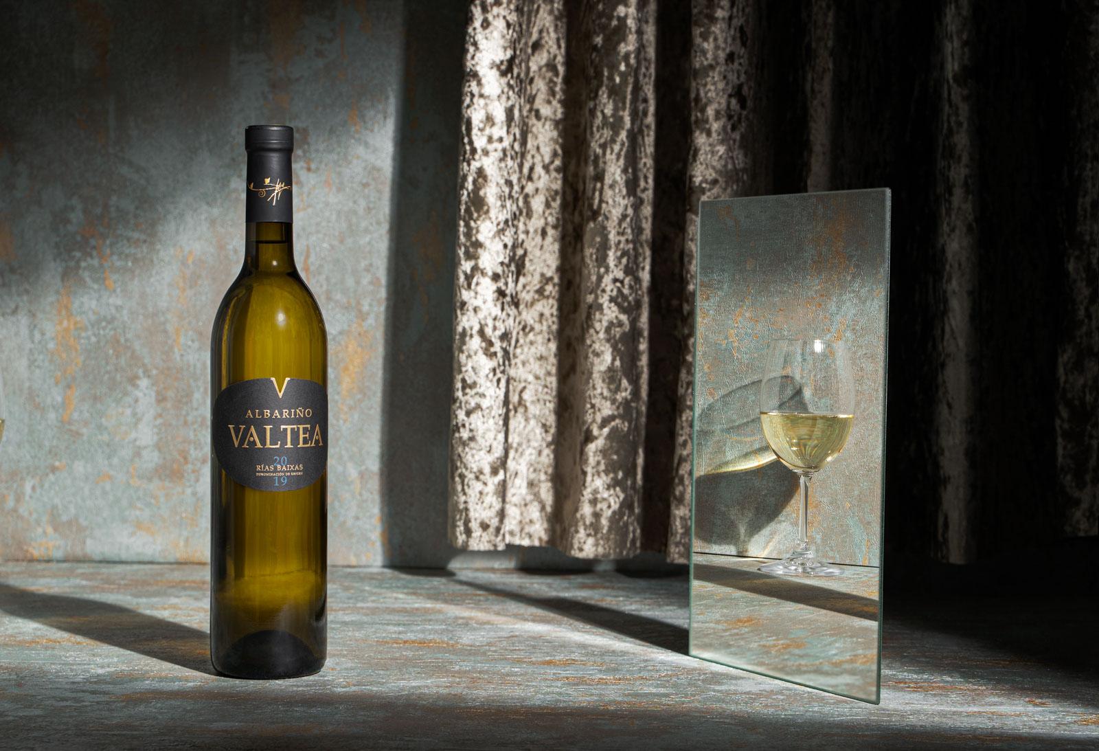 fotografía de vino